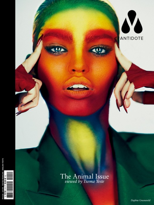 Daphne Groeneveld, Jac Jagaciak, Liu Wen, Crystal Renn and Others Cover Antidote's Animal Issue