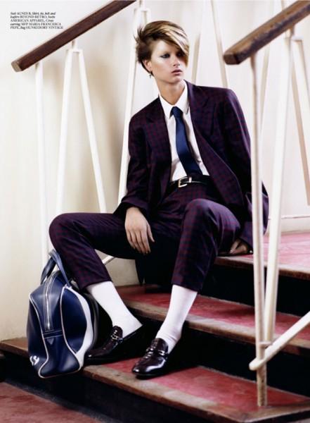 Bo Don Has a Boyish Flair for Mark Kean's Used Magazine Shoot