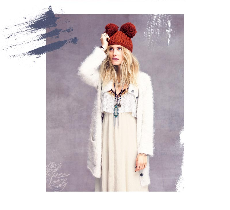 Dree Hemingway Gets Boho for Free People's October Catalogue