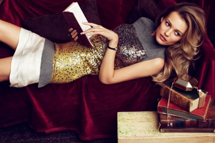 "Edita Vilkeviciute Stars in Louis Vuitton's ""L'Ame Du Voyage"" Catalogue"
