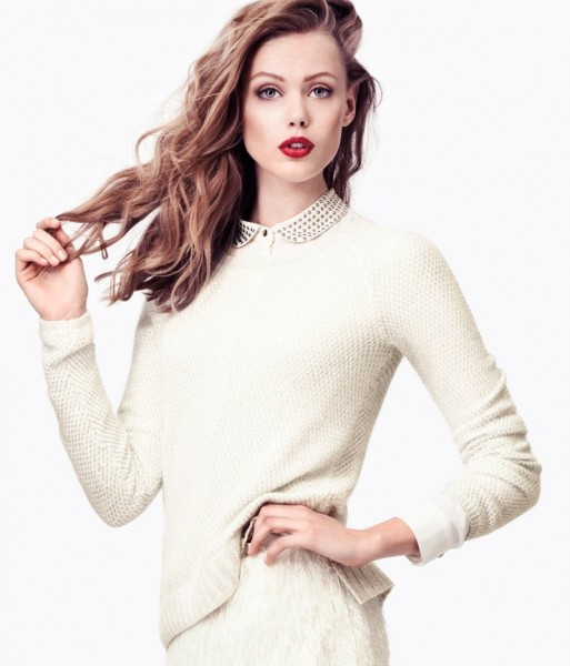 Frida Gustavsson Sports H&M's Winter Pastels