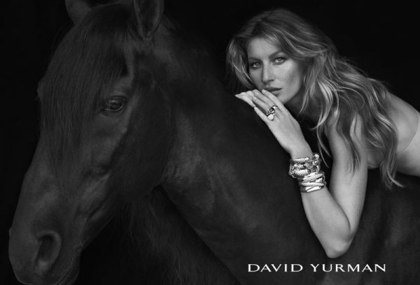 Gisele Bundchen Stuns in David Yurman's Fall 2012 Campaign by Peter Lindbergh