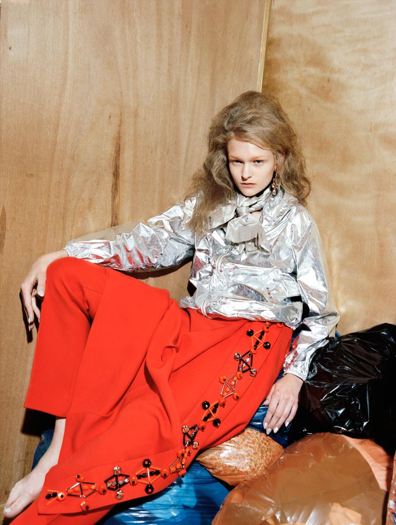 Anni Jurgenson is Pretty in Plastic for Greta Ilieva's Please Shoot