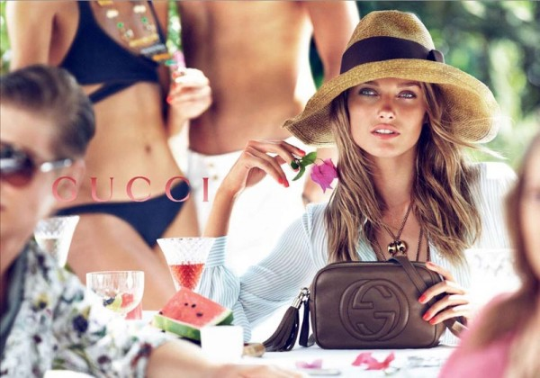 Gucci's Resort 2013 Campaign Stars Karmen Pedaru and Joan Smalls by Mert & Marcus