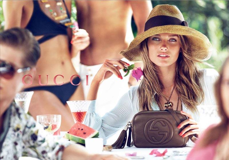 Gucci's Resort 2013 Campaign Stars Karmen Pedaru and Joan Smalls by Mert & Marcus