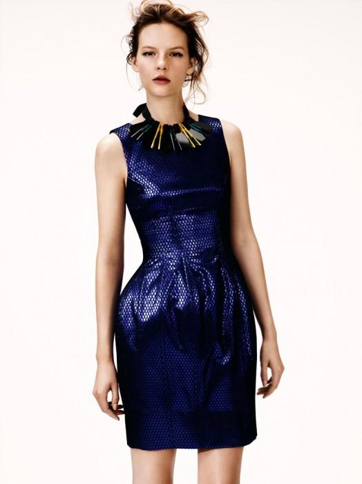 Sara Blomqvist Models H&M's Winter 2012 Collection