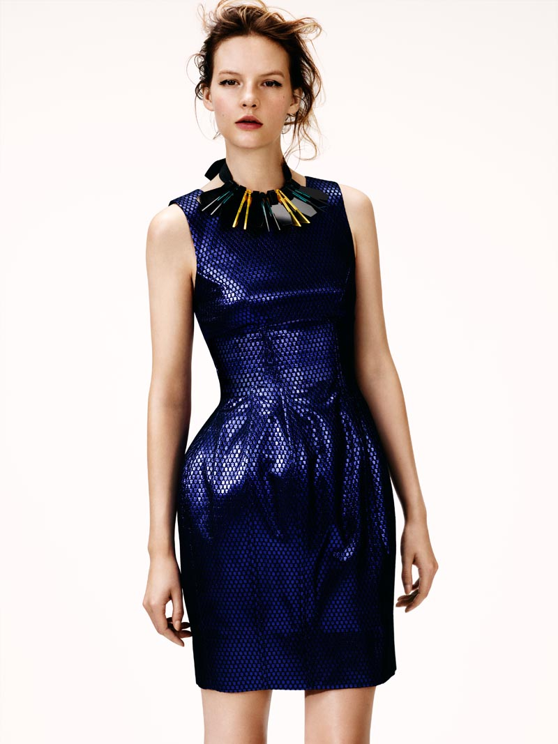 Sara Blomqvist Models H&M's Winter 2012 Collection