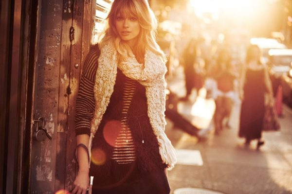 Julia Stegner Lights Up Reserved's Fall 2012 Campaign