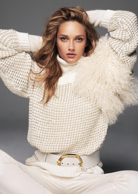 Karmen Pedaru Models Mango's Winter 2012 Collection