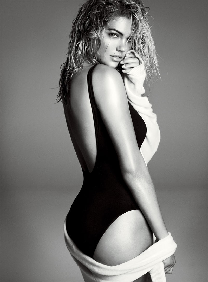Kate Upton Appears in Vogue US' November Issue, Lensed by Steven Meisel