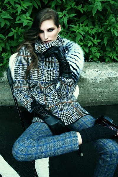 Kelsey Van Mook Covers Up for Fall in Richard Bernardin's Elle Canada Shoot