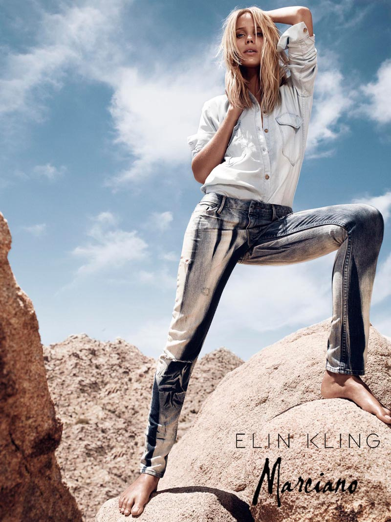 Hunter & Gatti Shoot the Elin Kling for Marciano Campaign