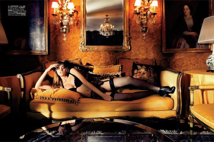Santiago Ruiseñor Captures Lingerie Looks for Elle Mexico