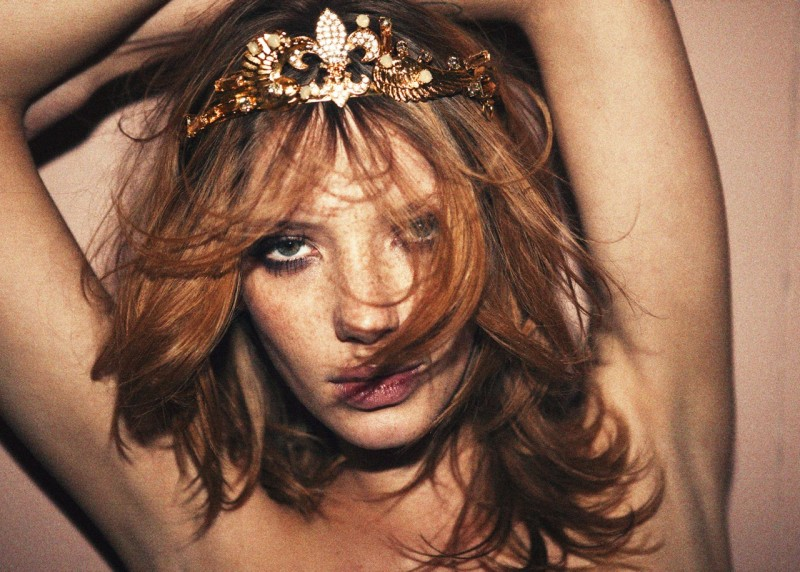Milagros Schmoll Seduces for Contributor Magazine, Lensed by Pierre Dal Corso