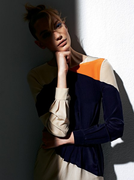 Milagros Schmoll Sports Color Blocking for Stella Magazine by James Mountford