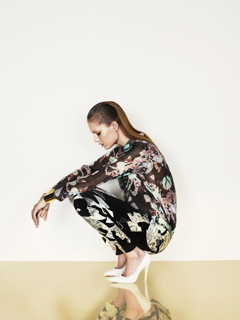 Nadja Bender is Sleekly Modern for Designers Remix's Spring 2013 Campaign by Jens Langkjaer