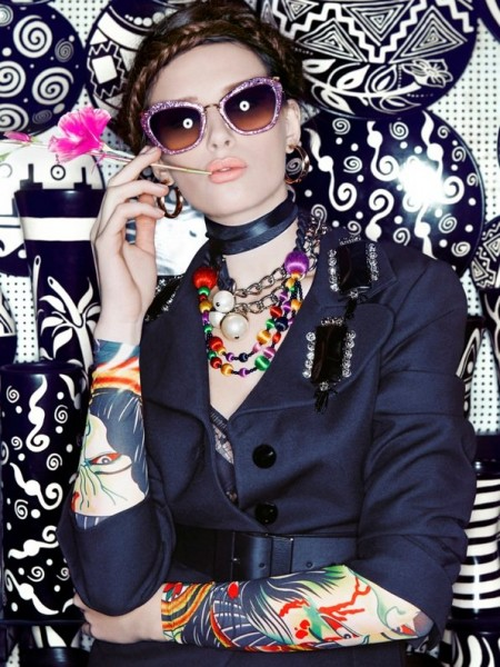 Renam Christofoletti Captures Colorful Style in Peru for Vogue Brazil October 2012