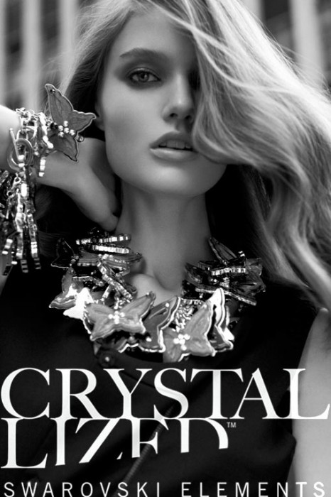 Katie Fogarty Shines for the Swarovski Elements Book by Nagi Sakai