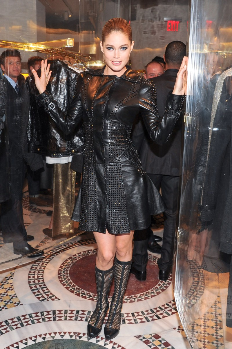 DONATELLA VERSACE Hosts a Cocktail to Celebrate Her New Boutique in SoHo