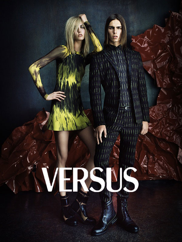 Karlie Kloss is Rocker Chic for Versus' Fall 2012 Campaign by Daniele & Iango