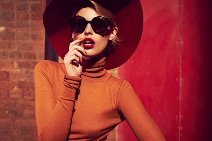 Jade Jackson Models Zanzan Eyewear A/W 2012