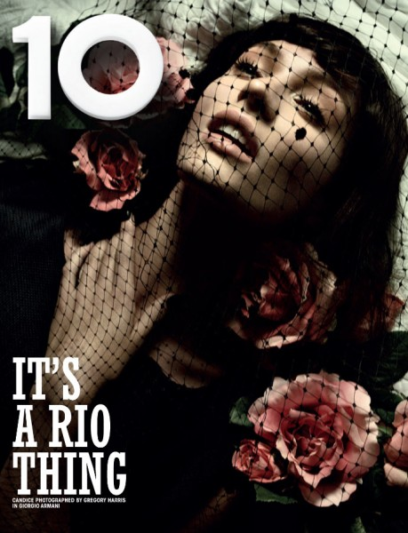Candice Swanepoel and Crystal Renn Cover 10 Magazine's Rio Issue
