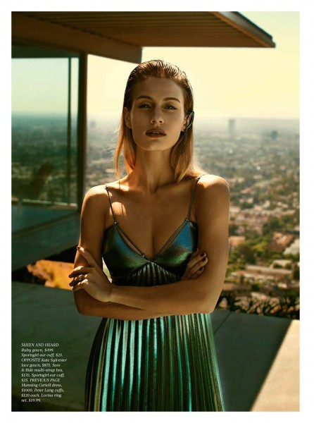 Natalia O'Nous Poses for Steven Chee in Fashion Quarterly NZ