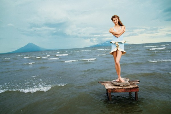 Karlie Kloss Takes to Nicaragua for T Magazine's Winter 2012 Cover Shoot by Ryan McGinley