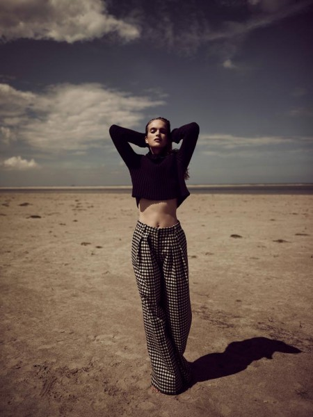 Mirte Maas Takes it Easy in Annemarieke van Drimmelen's Vogue Netherlands Shoot