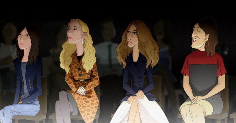 "Disney x Barneys ""Electric Holiday"" Film Featuring Fashion Stars"