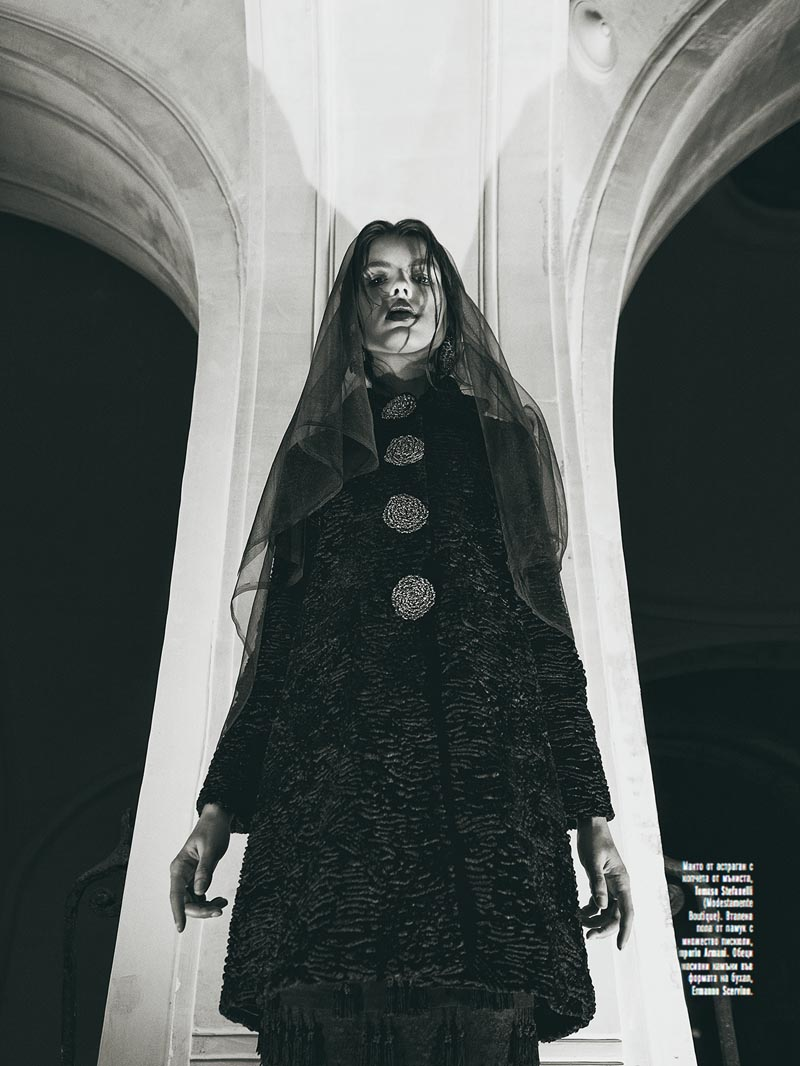"Georgi Andinov Captures ""Black Magic"" for Amica Bulgaria November 2012"
