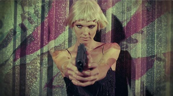 Shirley Mallmann Stars as a Bond Girl for Elle Brazil's Action-Packed Film