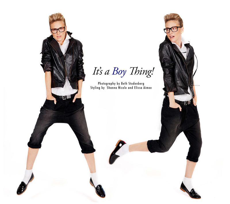 "Ashley Perich by Beth Studenberg in ""It's a Boy Thing"" for Fashion Gone Rogue"