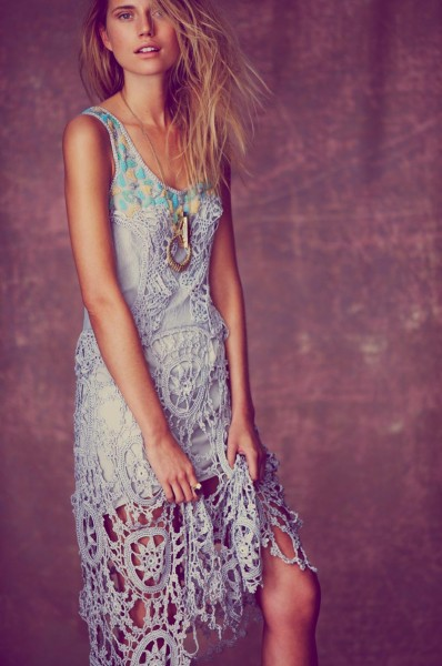 Cato Van Ee Models Free People's Limited Edition Holiday 2012 Collection