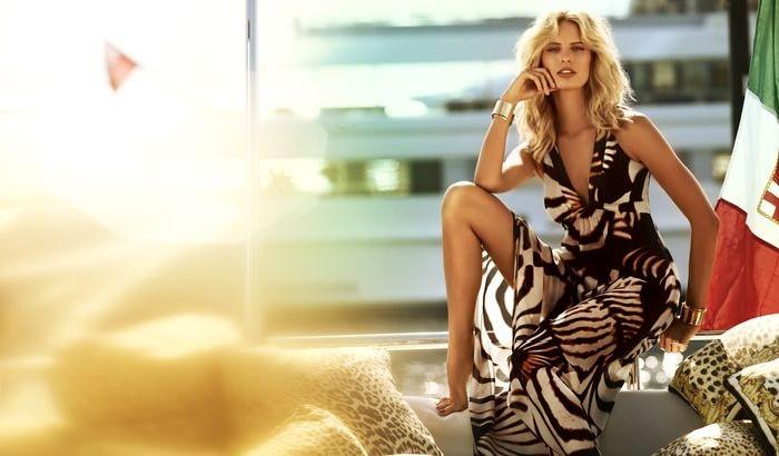 Karolina Kurkova Stars in the Roberto Cavalli x Target Australia Campaign
