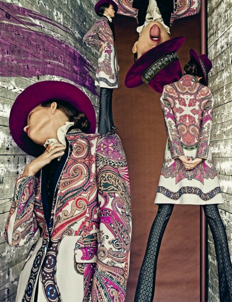Nikolay Biryukov Lenses Etro's Dynamic Fall for Interview Russia November 2012