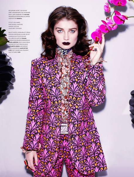 Eve Hewson Stars in Flaunt Magazine November/December 2012