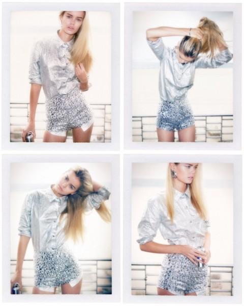 Frida Aasen Models Nasty Gal's Holiday 2012 Collection