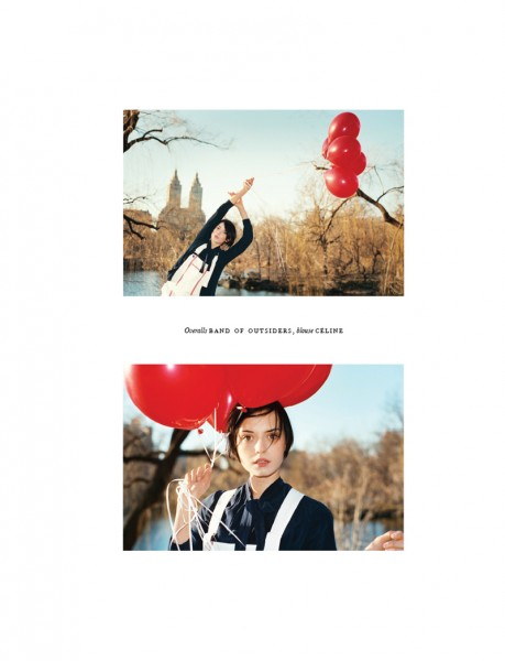 Shawn Océan Dogimont Lenses Central Park Style for Hobo Magazine #14