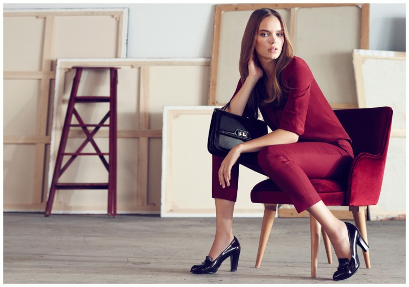 Zosia Nowak Stars in Hotiç's Fall 2012 Campaign by Emre Guven