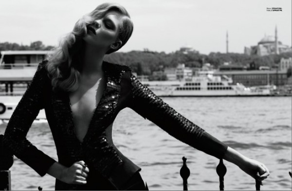 Emre Guven Captures Daytime Glamour for Elle Mexico's December Issue