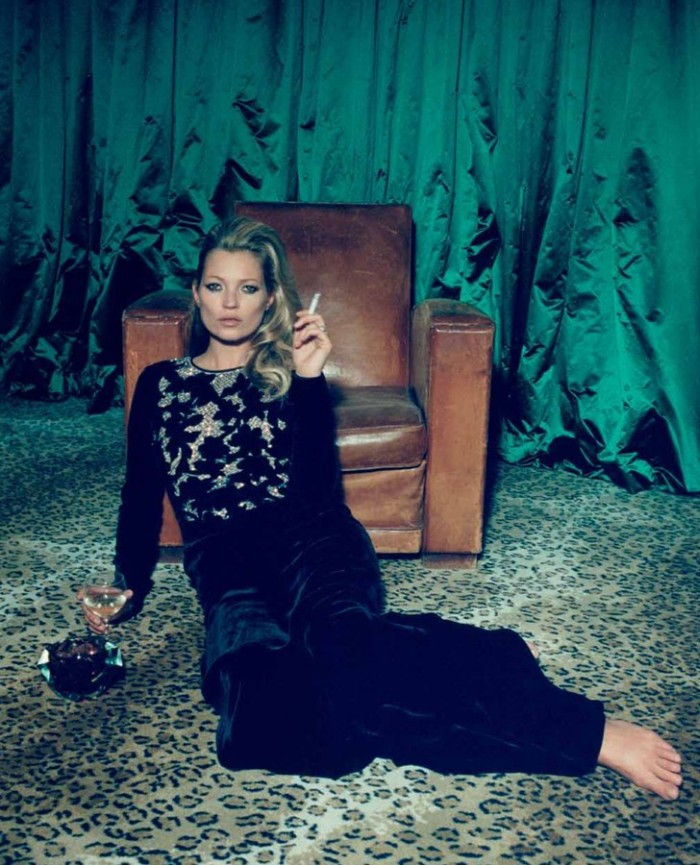 Kate Moss Poses for Venetia Scott in Centrefold's F/W 2012 Cover Shoot