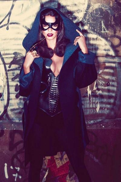 Lais Ribeiro Takes the Mask for Twelv Magazine #2 by Rony Shram