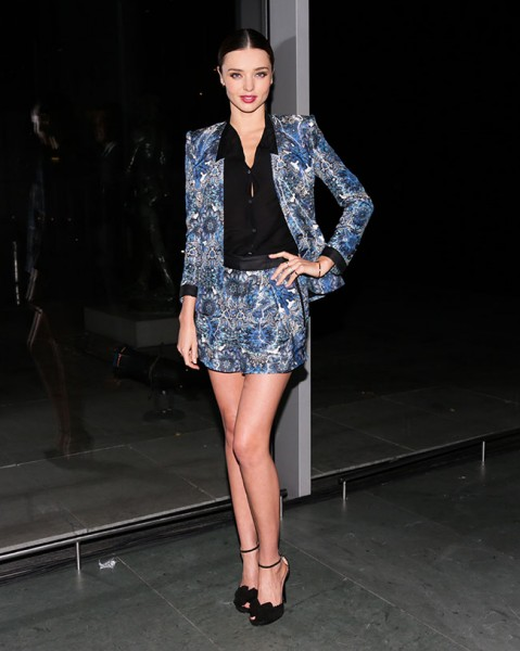 Miranda Kerr in Tabitha Simmons at the 2012 Footwear News Achievement Awards