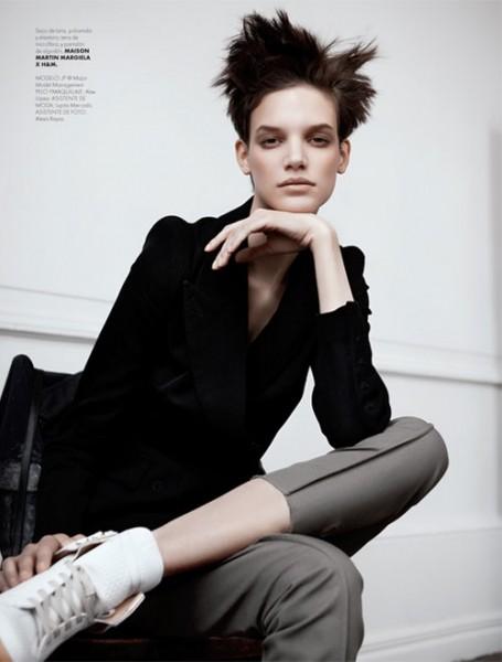Santiago Ruiseñor  Lenses Maison Martin Margiela x H&M for Elle Mexico December 2012