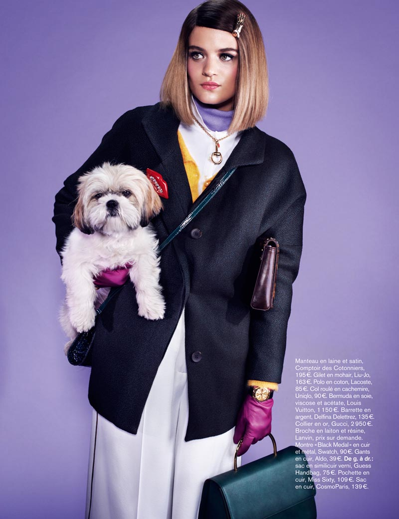 Rintje van Witjck is First Class for Naomi Yang's Glamour France Shoot