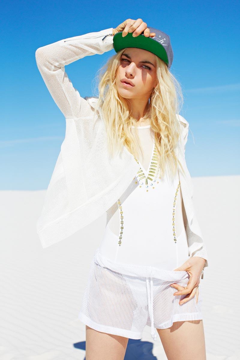 Naomi Preizler Models Sporty Style for Nasty Gal's November 2012 Lookbook