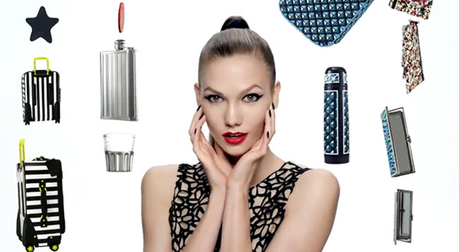 Karlie Kloss Stars in Neiman Marcus + Target's Holiday 2012 Collection Film