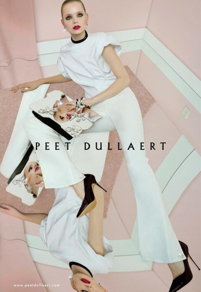Svea Kloosterhof Stars in Peet Dullaert's Spring 2013 Campaign by Meinke Klein