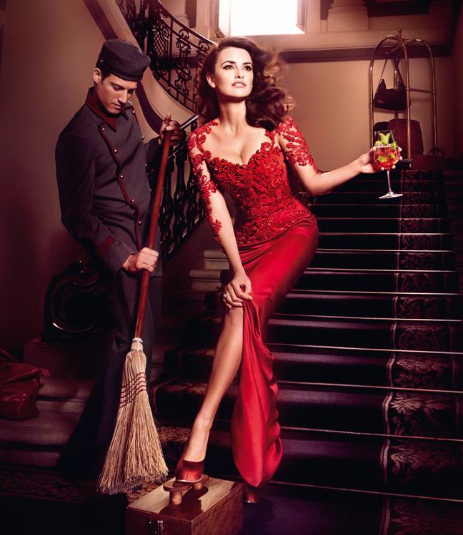 Penelope Cruz is Red Hot in the 2013 Campari Calendar